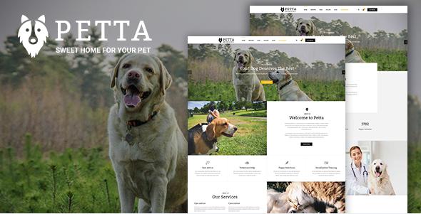 Petta - Premium Pet Care WordPress Theme