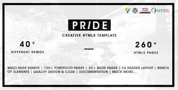 Pride - Creative Multipurpose WordPress Theme