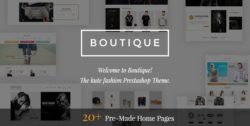 Boutique - Kute Responsive Prestashop Theme