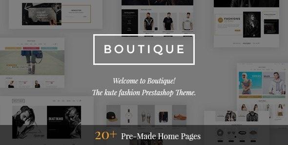 Boutique - Kute Responsive Prestashop Theme