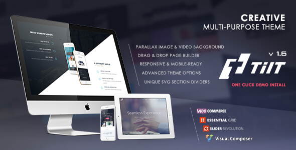 Tilt - Creative Multipurpose Theme