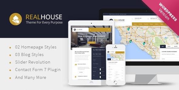 Realhouse - Real Estate WordPress theme