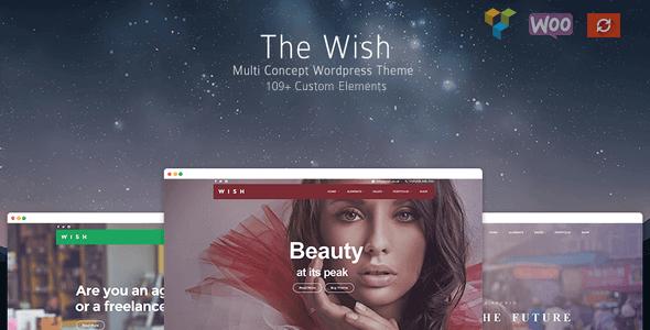 Wish - Responsive Multi-Purpose WordPress Theme