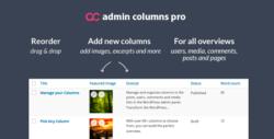 Admin Columns Pro + Addons