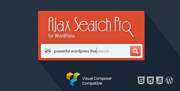 Ajax Search Pro for WordPress - Live Search Plugin