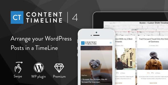 Content Timeline - Responsive WordPress Plugin