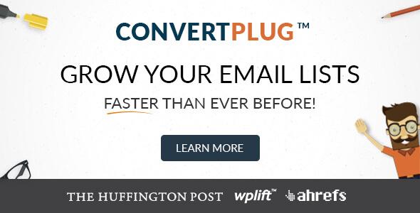 ConvertPlug - WordPress Popups Plugin