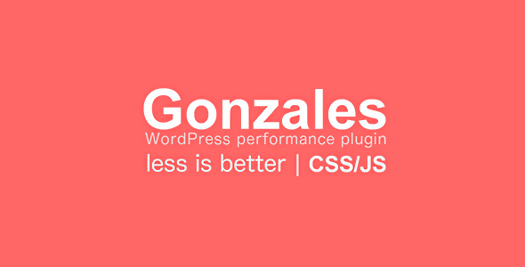 Gonzales WordPress Performance Plugin