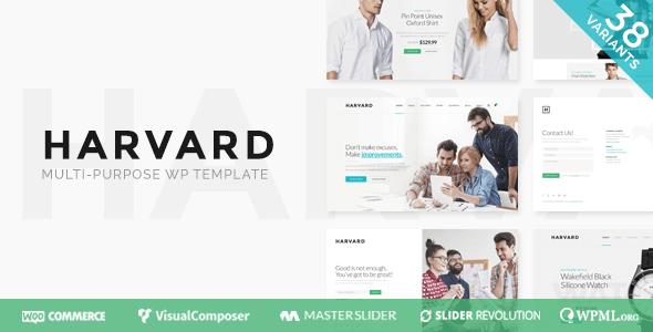 Harvard   Responsive Multi-Purpose Theme