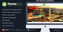 Homeland - Real Estate WordPress Theme