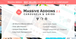 Massive Addons for Visual Composer