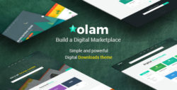 Olam - WordPress Easy Digital Downloads Theme