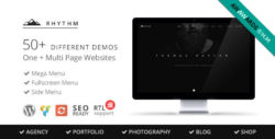 Rhythm | Responsive WordPress Multi-Purpose Theme