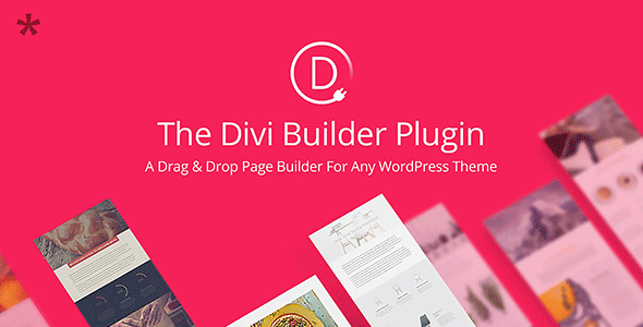 Divi Builder – The Ultimate Page Builder Plugin