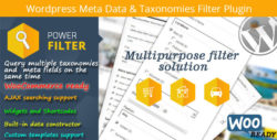 Wordpress Meta Data & Taxonomies Filter